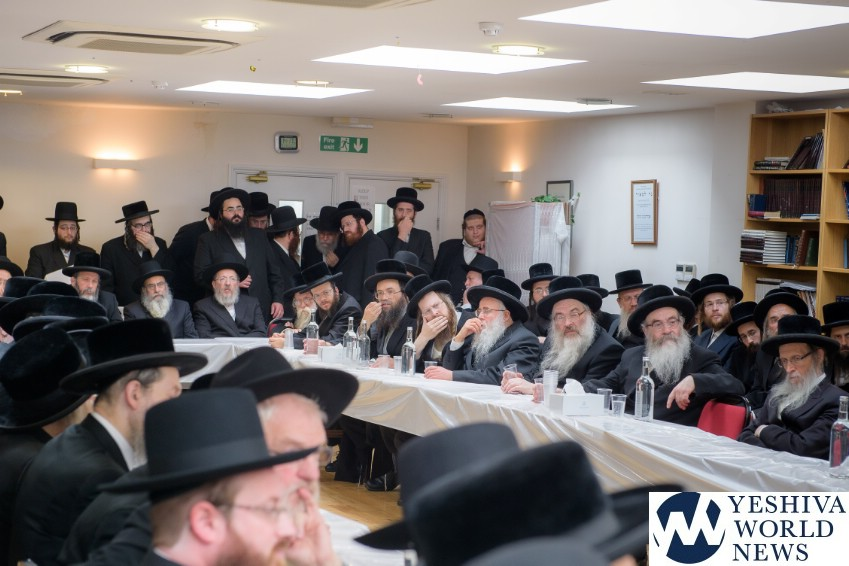 UOHC Asifas Rabbonim Menhallim London [PHOTOS] - The Yeshiva World