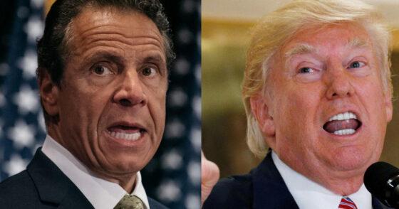 Trump, Cuomo, Spar Over New York's Bail Reform Law