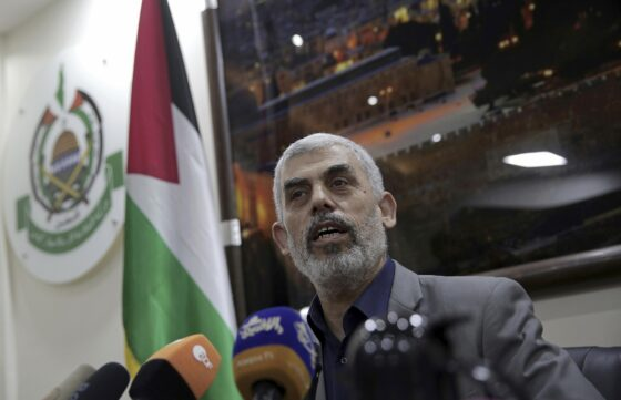 "Hamas Head: ""We'll Bomb Tel Aviv For 6 Mths., Benny Gantz Will Regret The Day He Was Born"""