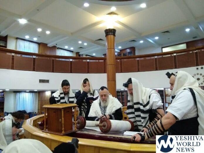 Hagaon Harav Yitzchak Yosef Visiting Moscow S Jewish