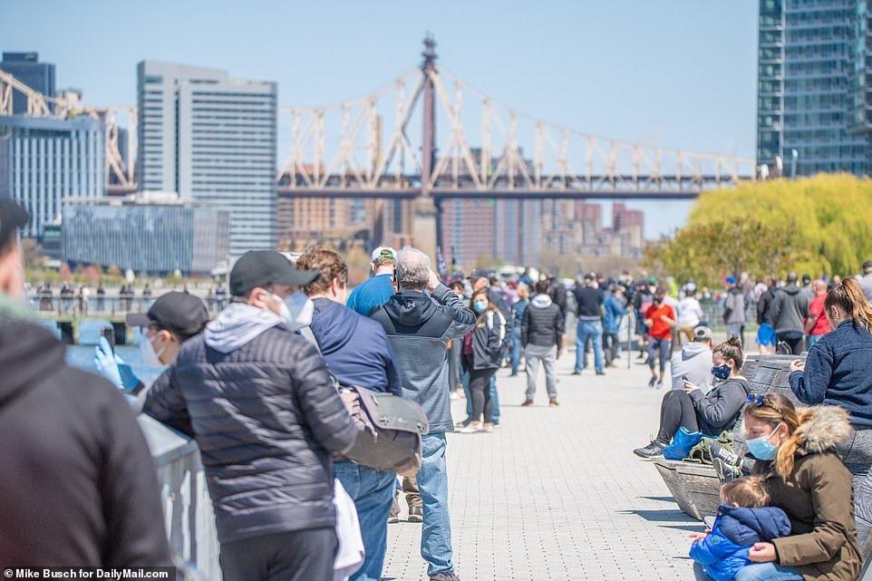 DOUBLE STANDARD: DeBlasio & NYPD Break Up Massive Funeral But Ignore Massive Airshow Crowds 13