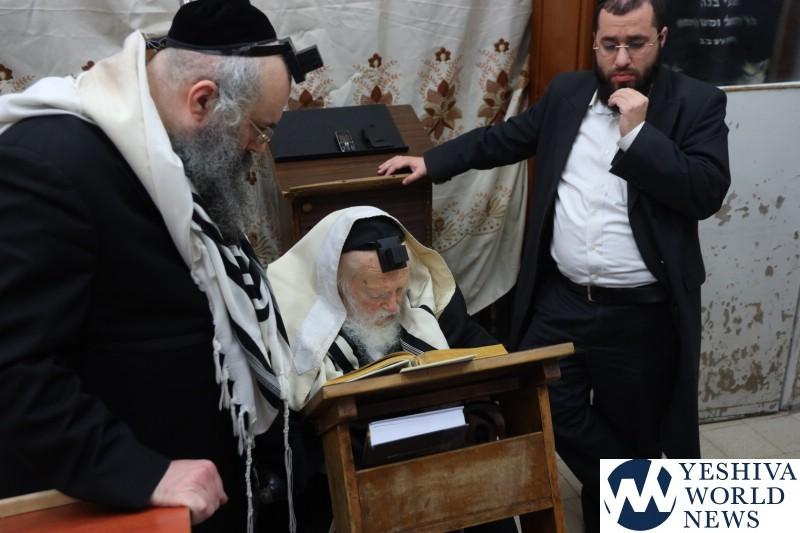 Hagaon HaRav Chaim Kanievsky Makes 76th Annual Siyum On Entire Torah 1