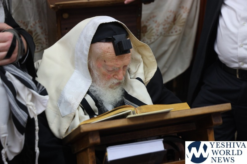 Hagaon HaRav Chaim Kanievsky Makes 76th Annual Siyum On Entire Torah 2