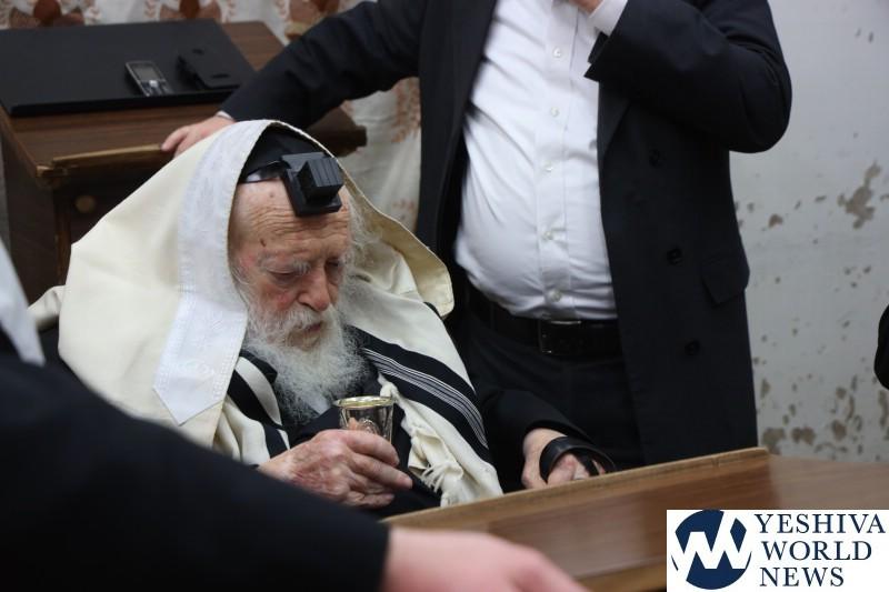 Hagaon HaRav Chaim Kanievsky Makes 76th Annual Siyum On Entire Torah 4