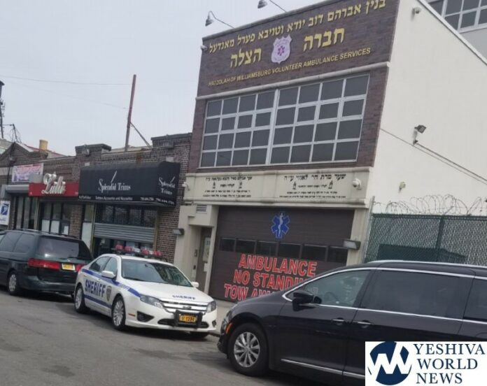 OUTRAGEOUS: NYC Sheriff Dept Blocks Hatzolah Ambulance Garage To Bust Open Businesses 1