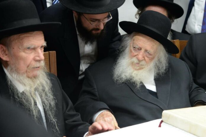 Gedolei HaDor Write Special Letter Addressing Rise of Virus Cases In Israel 1