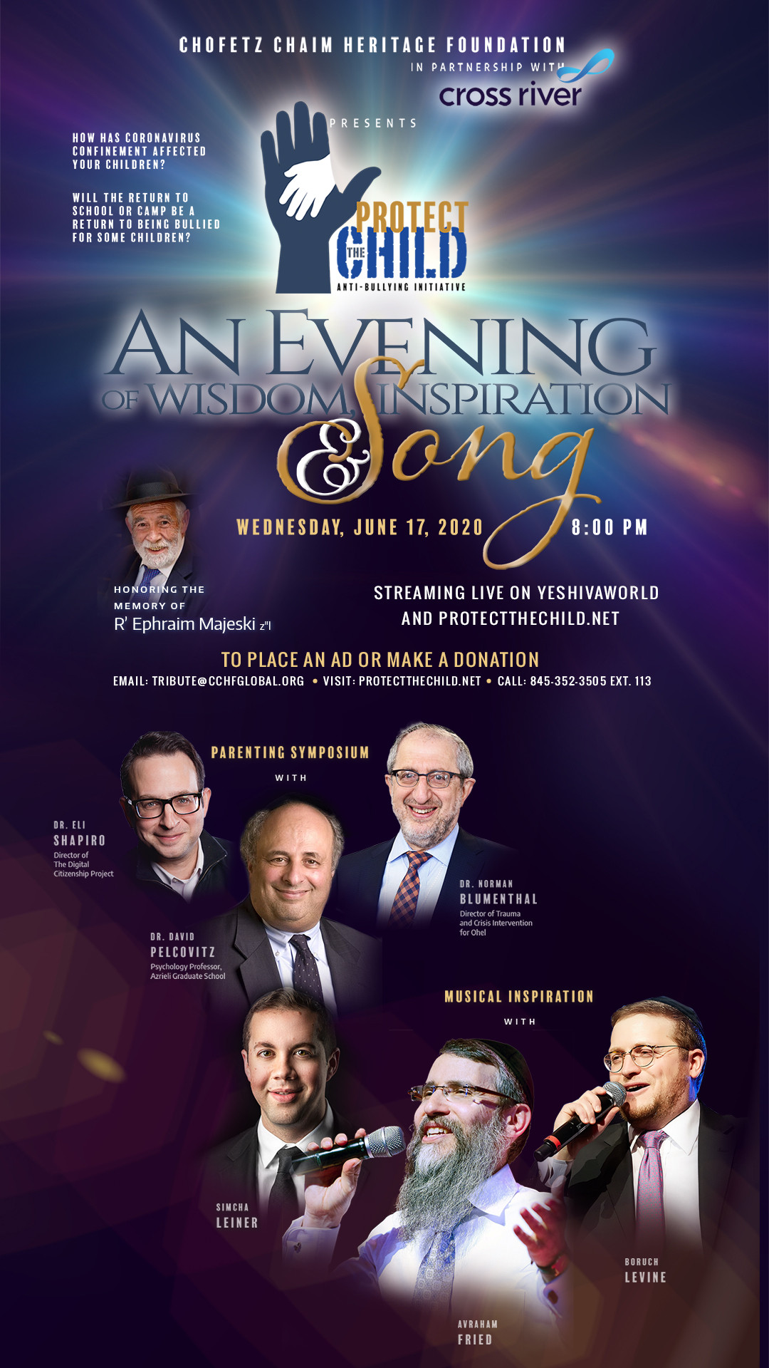 Wednesday Night! – An Evening of Song, Wisdom and Inspiration: Join Now! 1