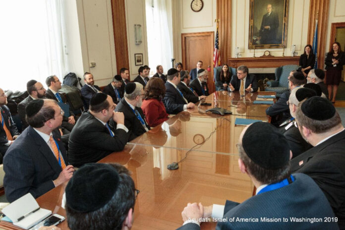 Agudath Israel Applauds The US DOJ For Action Against Village Of Airmont 1