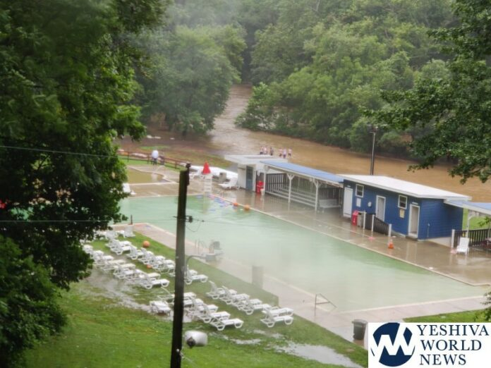 SEE THE VIDEOS: Camp YKK In Pennsylvania Gets Hit With Flash Floods – All Campers Safe 1