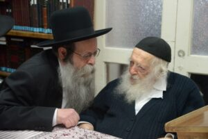 HaRav Chaim's Grandson Yanky Joins Zeide After Testing Positive For COVID-19 2