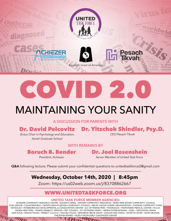 COVID 2.0: Maintaining Your Sanity – A Special Webinar 1