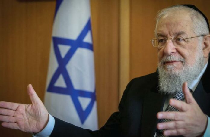Former Israel Chief Rabbi Lau Tests Positive After Receiving Second Vaccination 1