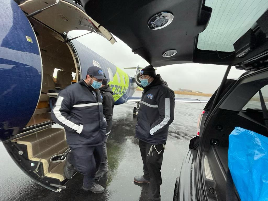 From Sorrow to Joy, Misaskim and Hatzolah Air Join Forces to Brave the Snow 1