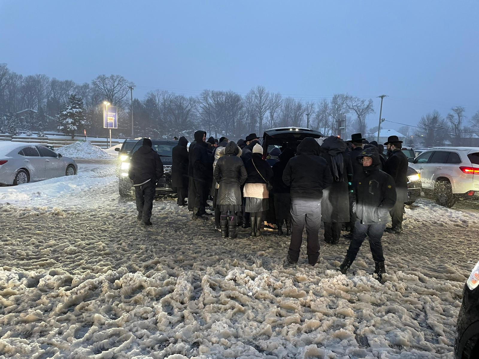 From Sorrow to Joy, Misaskim and Hatzolah Air Join Forces to Brave the Snow 2